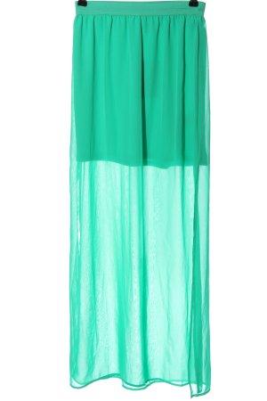 H&M Divided Maxirock grün Elegant