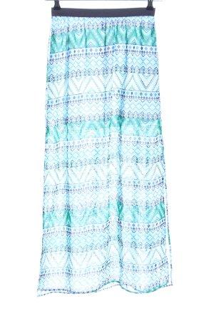 H&M Divided Falda larga estampado gráfico look casual