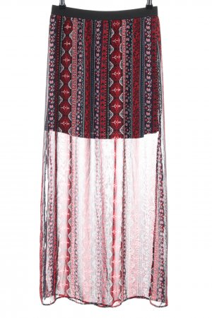 H&M Divided Maxi rok grafisch patroon casual uitstraling