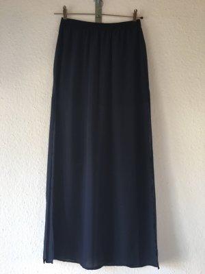 H&M Divided Maxi Skirt dark blue