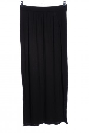 H&M Divided Maxi Skirt black casual look