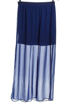H&M Divided Jupe longue bleu élégant