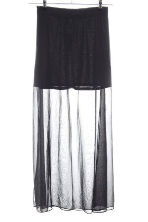 H&M Divided Maxi Skirt black elegant