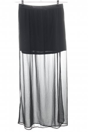 H&M Divided Maxi gonna nero stile casual