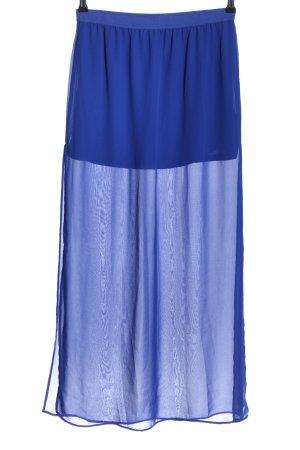 H&M Divided Midirock blau Elegant