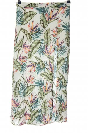 H&M Divided Spódnica midi Abstrakcyjny wzór W stylu casual