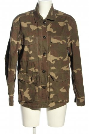 H&M Divided Militaryjacke Camouflagemuster Casual-Look
