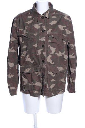 H&M Divided Veste militaire motif de camouflage style décontracté