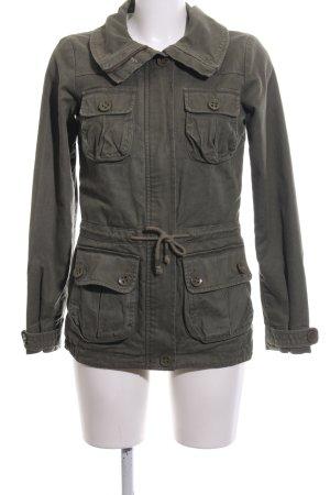 H&M Divided Militair jack khaki casual uitstraling