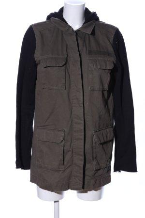 H&M Divided Giacca militare grigio chiaro-nero stile casual