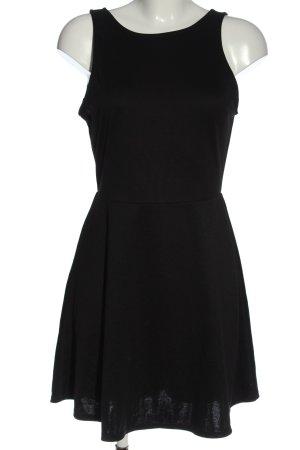 H&M Divided Minikleid schwarz Elegant