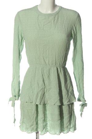 H&M Divided Minikleid grün Casual-Look