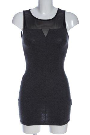 H&M Divided Minikleid schwarz meliert Business-Look