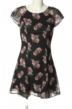 H&M Divided Minikleid Allover-Druck Casual-Look