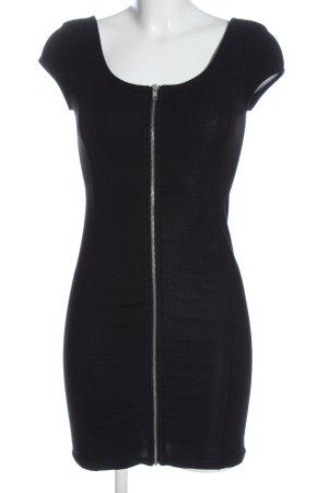 H&M Divided Mini Dress black casual look