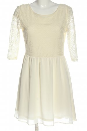 H&M Divided Minikleid creme Casual-Look