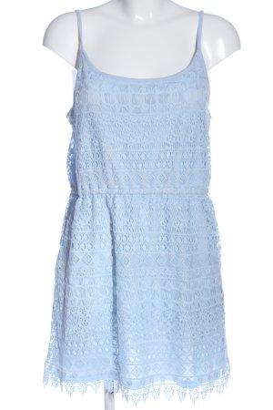 H&M Divided Minikleid blau Casual-Look