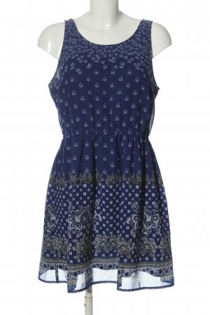 H&M Divided Minikleid abstraktes Muster Casual-Look