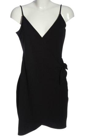 H&M Divided Minikleid schwarz Casual-Look