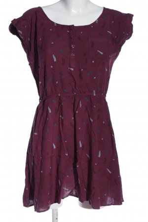 H&M Divided Minikleid pink Allover-Druck Casual-Look