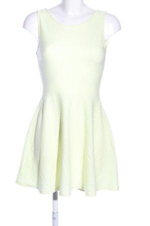 H&M Divided Minikleid blassgelb Casual-Look