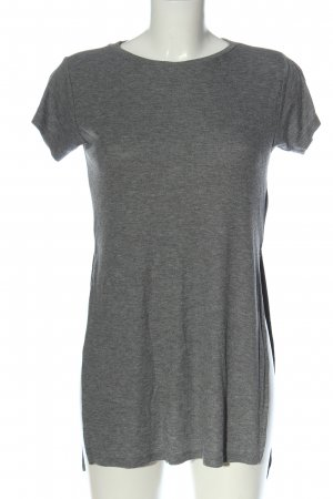 H&M Divided Minikleid hellgrau meliert Casual-Look