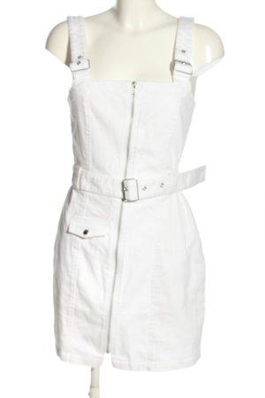 H&M Divided Minikleid weiß Casual-Look