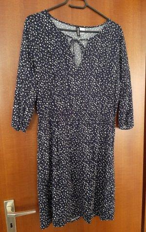 H&M Divided Minikleid Mini Kleid Herzchen Herzen Flecken