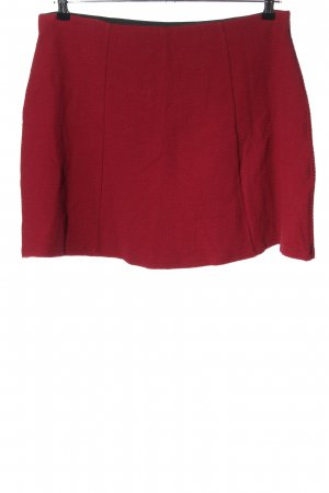 H&M Divided Minirock rot Casual-Look
