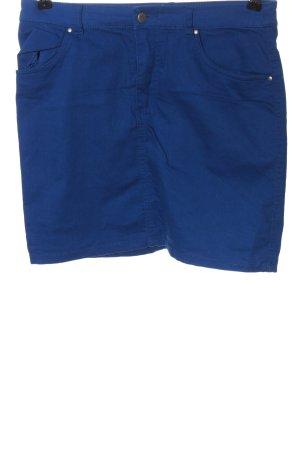 H&M Divided Minirock blau Casual-Look