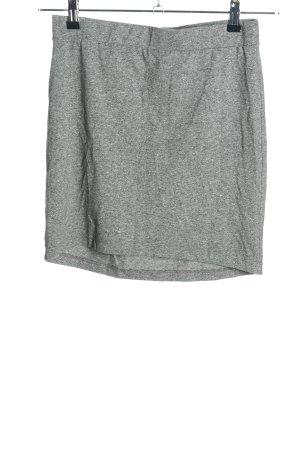 H&M Divided Minirock hellgrau Casual-Look