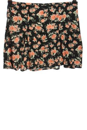 H&M Divided Miniskirt flower pattern casual look