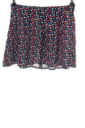 H&M Divided Minirock abstraktes Muster Casual-Look