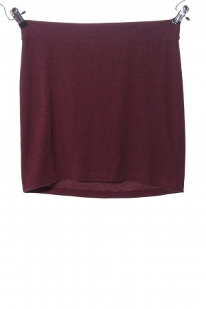 H&M Divided Minirock pink meliert Casual-Look