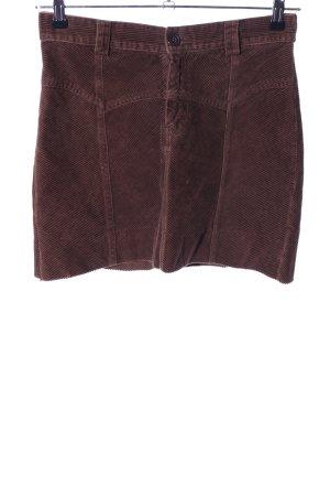 H&M Divided Minirock braun Casual-Look