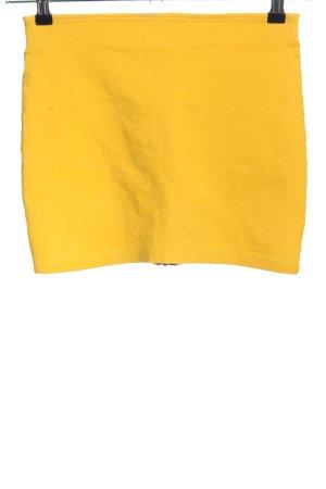 H&M Divided Minirock blassgelb Elegant