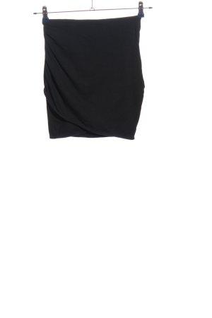H&M Divided Minirock schwarz Business-Look