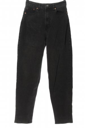 H&M Divided Mom-Jeans hellgrau Casual-Look