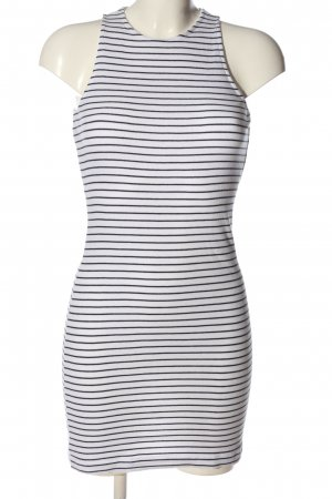 H&M Divided Halter Dress white-blue allover print casual look