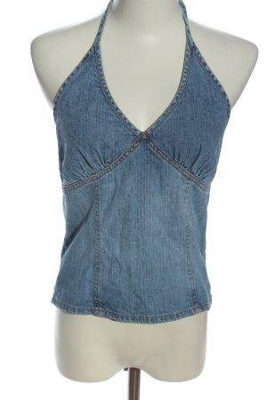H&M Divided Top senza maniche blu stile casual