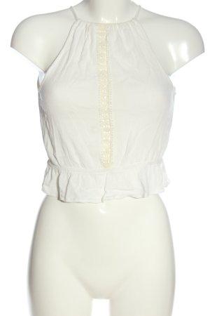H&M Divided Top senza maniche bianco stile casual