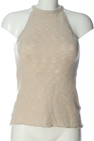 H&M Divided Top senza maniche crema stile casual