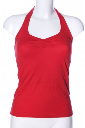 H&M Divided Neckholdertop rot Casual-Look