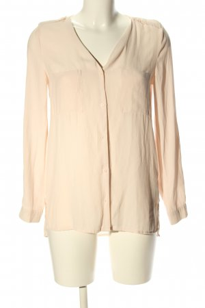 H&M Divided Oversized Bluse creme Casual-Look
