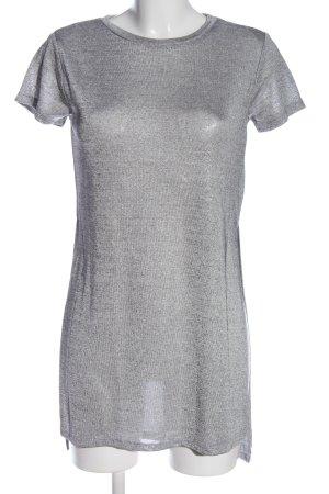 H&M Divided Bluzka oversize jasnoszary W stylu casual