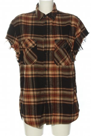 H&M Divided Oversized Bluse Allover-Druck Casual-Look