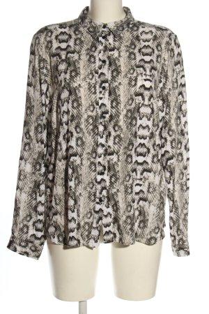 H&M Divided Oversized Bluse Animalmuster extravaganter Stil