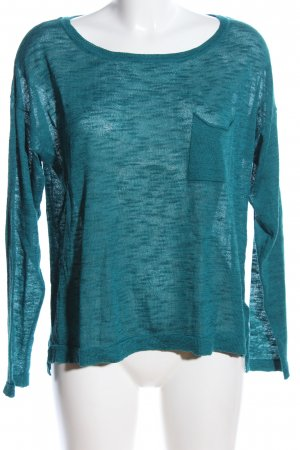 H&M Divided Oversized Sweater green business style