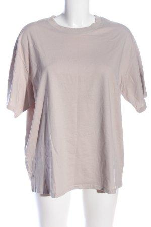 H&M Divided Oversized shirt lichtgrijs casual uitstraling