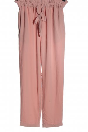 H&M Divided Paperbag Trousers pink casual look